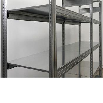 BERT-Fachebene/Stahl-Paneel 100 kg für Regalfeld 875 x 400 mm (BxT)