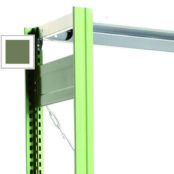 Rahmen mit Tiefenriegel lackiert in Resedagrün(RAL 6011)