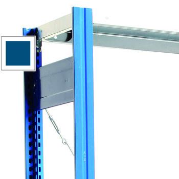 Rahmen mit Tiefenriegel lackiert in Enzianblau (RAL 5010)