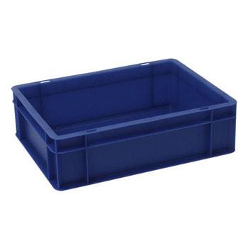 Eurobehälter, Größe 1, 120 x 300 x 400 mm (HxBxT), blau