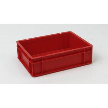 Eurobehälter, Größe 1, 120 x 300 x 400 mm (HxBxT), rot