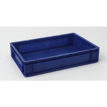 Eurobehälter, Größe 4, 120 x 400 x 600 mm (HxBxT), blau