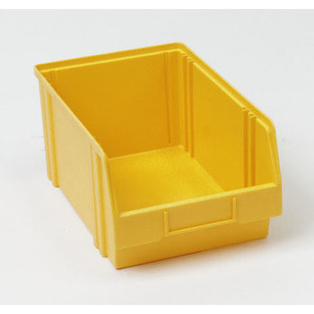 Sichtlagerkasten, Größe 4, 150 x 200 x 350 mm (HxBxT), gelb