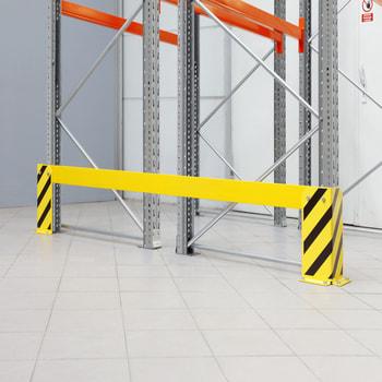 Zubehör ARTUS - Leitplanke für Doppelregalzeile - Regaltiefe 2 x 1.100 mm