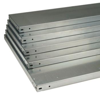 Fachboden für Steckregal - lichtgrau (RAL 7035) - Fachlast 250 kg - (BxT) 1.285 x 600 mm