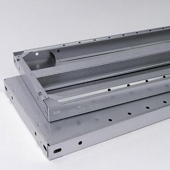Fachboden für Steckregal - verzinkt - Fachlast 350 kg - (BxT) 875 x 400 mm