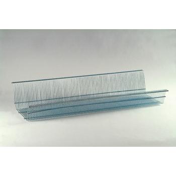 Gitterwanne für Fachmaß 875 x 400 mm (BxT), inkl. 2 Stufenbalken und 2 Fachteiler