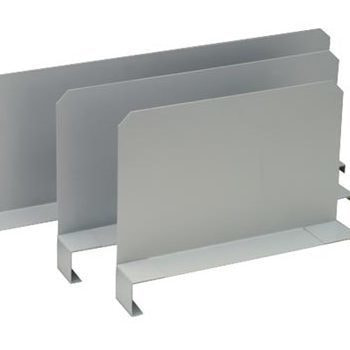 Fachteiler verschiebbar, für Paneel, Höhe 200 mm, für Bodentiefe 300 mm, verzinkt