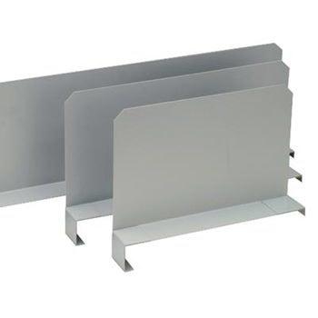 Fachteiler verschiebbar, für Paneel, Höhe 200 mm, für Bodentiefe 600 mm, verzinkt
