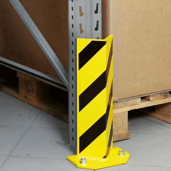 Zubehör ARTUS - Anfahrschutz für Zwischenständer - V-Form - Rammschutz - inkl. 4 Bodenanker