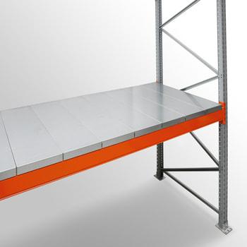 Zubehör ARTUS - Stahlpaneele - für Fachbreite 3.600 mm - Regaltiefe 1.100 mm - Fachlast 3.600 kg