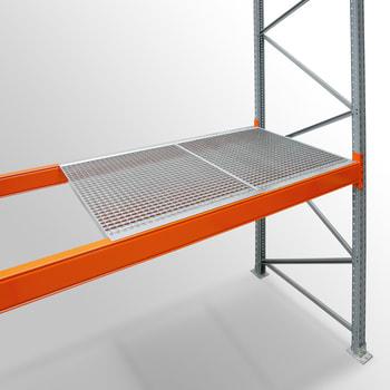 Zubehör ARTUS - Gitterrostböden - für Fachbreite 3.600 mm - Regaltiefe 1.100 mm - Fachlast 3.400 kg