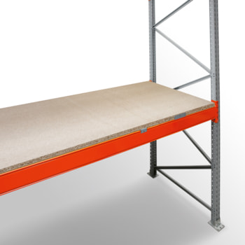 Zubehör ARTUS - Spanplattenböden - für Fachbreite 2.700 mm - Regaltiefe 1.100 mm - Fachlast 1.400 kg