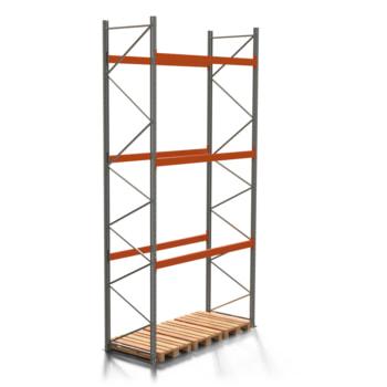 Palettenregal ARTUS - 3 Ebenen - Fachlast 3.000 kg - 5.500 x 2.700 x 1.100 mm (HxBxT) - Schwerlastregal