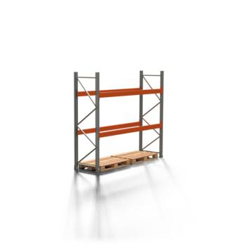 Palettenregal ARTUS - 2 Ebenen - Fachlast 3.000 kg - 2.500 x 2.700 x 800 mm (HxBxT) - Schwerlastregal