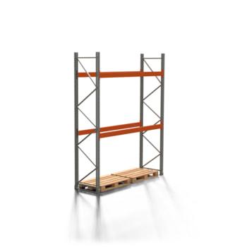 Palettenregal ARTUS - 2 Ebenen - Fachlast 3.000 kg - 3.500 x 2.700 x 800 mm (HxBxT) - Schwerlastregal
