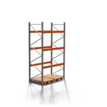 Palettenregal ARTUS - 3 Ebenen - Fachlast 3.000 kg - 3.500 x 1.900 x 1.100 mm (HxBxT) - Schwerlastregal