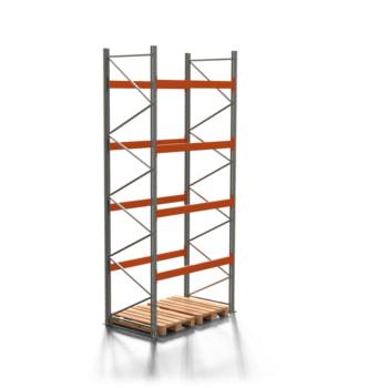 Palettenregal ARTUS - 4 Ebenen - Fachlast 3.000 kg - 4.500 x 1.900 x 1.100 mm (HxBxT) - Schwerlastregal