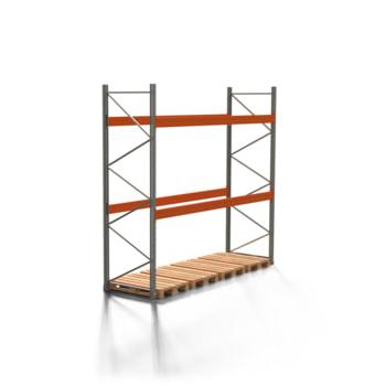 Palettenregal ARTUS - 2 Ebenen - Fachlast 4.000 kg - 3.500 x 3.600 x 1.100 mm (HxBxT) - Schwerlastregal