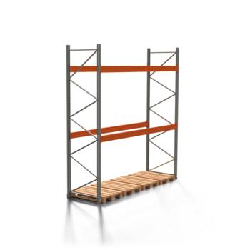 Palettenregal ARTUS - 2 Ebenen - Fachlast 4.000 kg - 4.000 x 3.600 x 1.100 mm (HxBxT) - Schwerlastregal