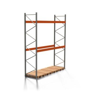 Palettenregal ARTUS - 2 Ebenen - Fachlast 4.000 kg - 4.500 x 3.600 x 1.100 mm (HxBxT) - Schwerlastregal