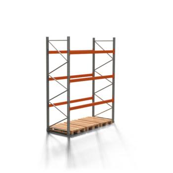Palettenregal ARTUS - 3 Ebenen - Fachlast 2.000 kg - 3.500 x 2.700 x 1.100 mm (HxBxT) - Schwerlastregal
