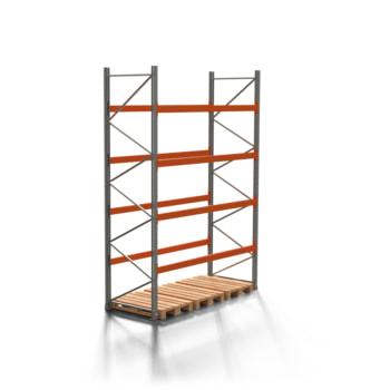 Palettenregal ARTUS - 4 Ebenen - Fachlast 2.000 kg - 4.000 x 2.700 x 1.100 mm (HxBxT) - Schwerlastregal