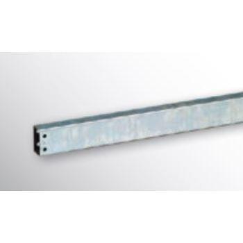Rechteckrohr Längsträger für Trägerarme - Breite 1.285 mm - verzinkt