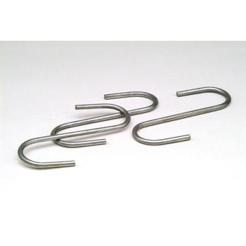 Universalhaken für Trägerarme, Traglast 50 kg, S-Form