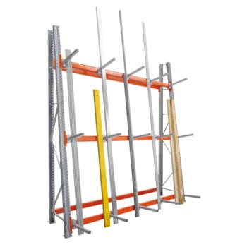 Vertikalregal ARTUS - Vertikallast 1.200 kg - 3.500 x 2.700 x 1.000 mm (HxBxT) - Profillagerregal